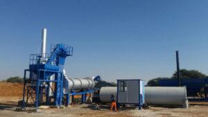 ALT60 portable asphalt plant in Bozwana