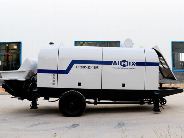 ABT90C เครื่องปั๊มคอนกรีตดีเซล