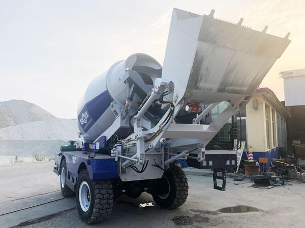 AS-4.0 self mixer truck