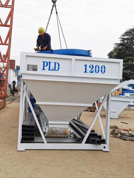 PLD batching machine