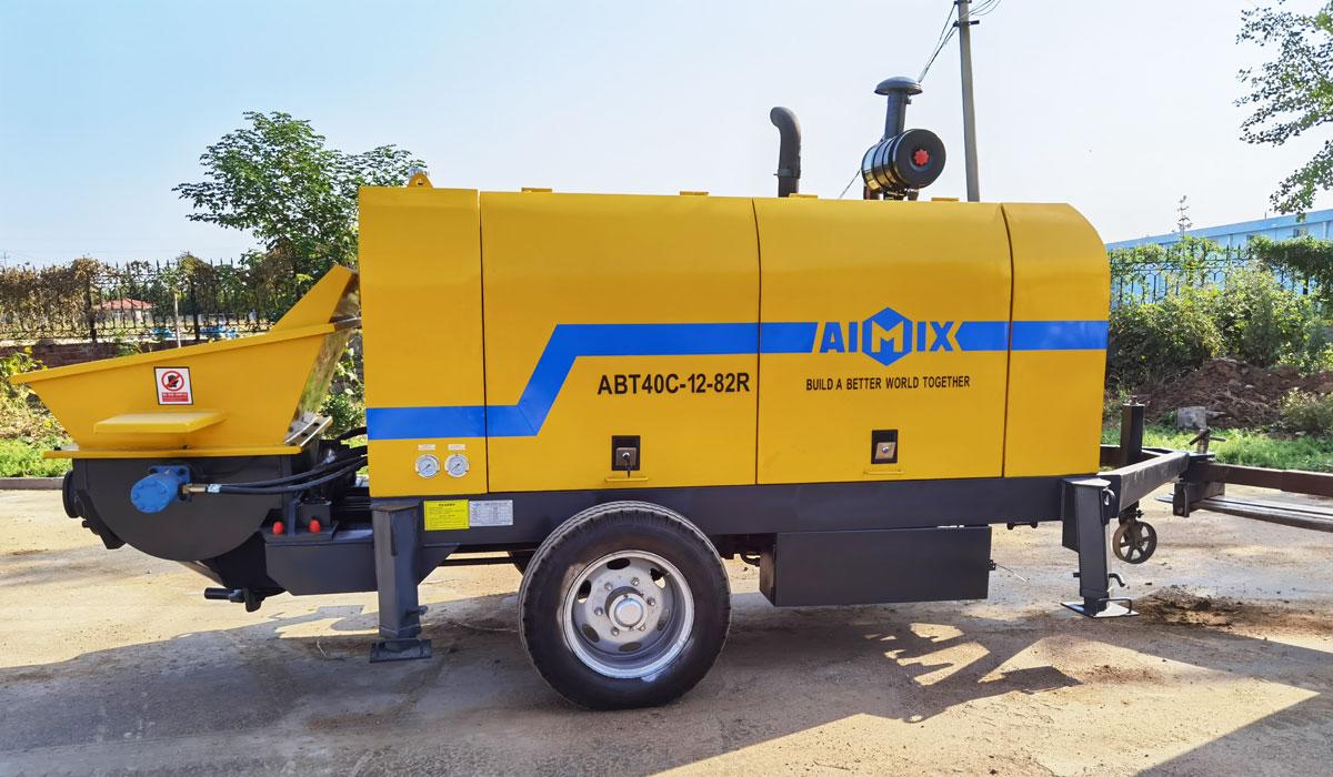 diesel concrete pump Philippines