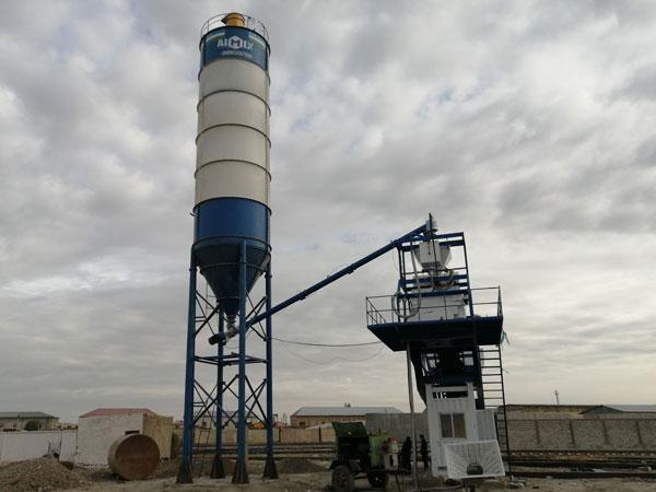 mobile batch plant Uzbekistan