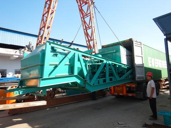 mobile concrete batching plant-Philippines