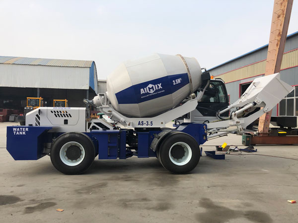 self-loading mixer to philippines