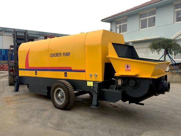 ABT60C concrete pump trailer