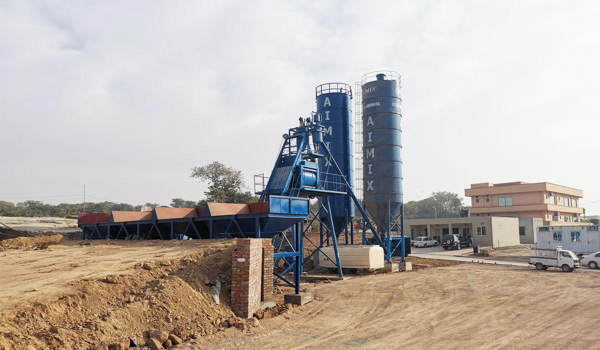 Planta de concreto AJ-50 Paquistão