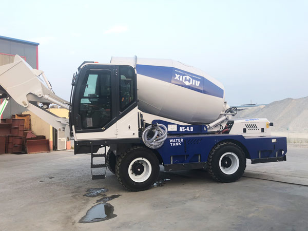 AS-4.0 self loader mixer to Russia
