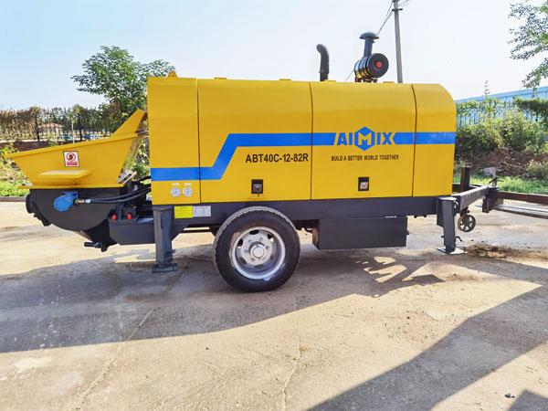 ABT40C concrete trailer pump