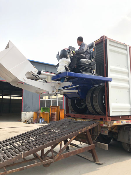 self loading mixer to philippines