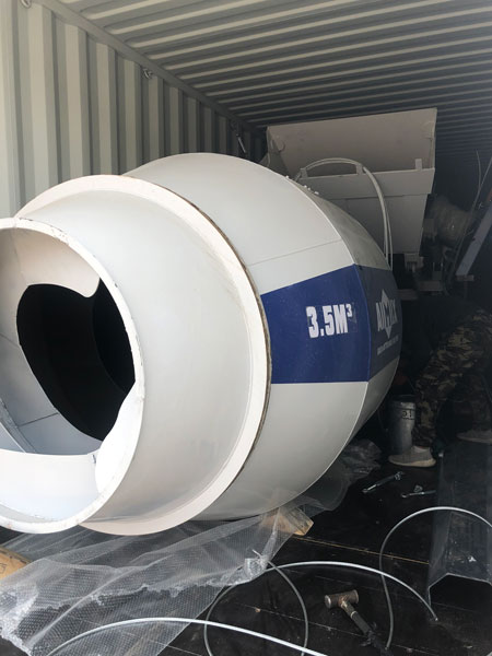 transport self mixer to Philippines