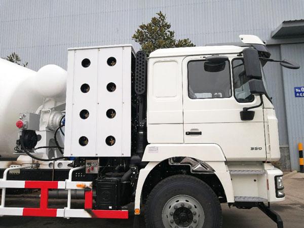 12m3 transit mixer truck