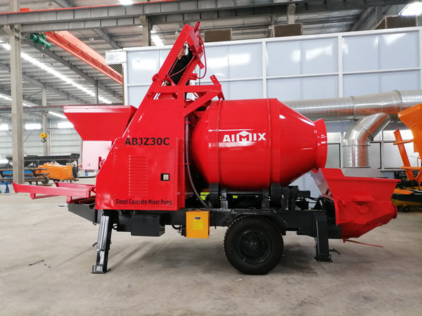 ABJZ30C small concrete mixer pump