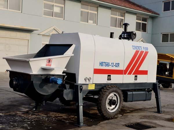 ABT60C concrete line pump diesel