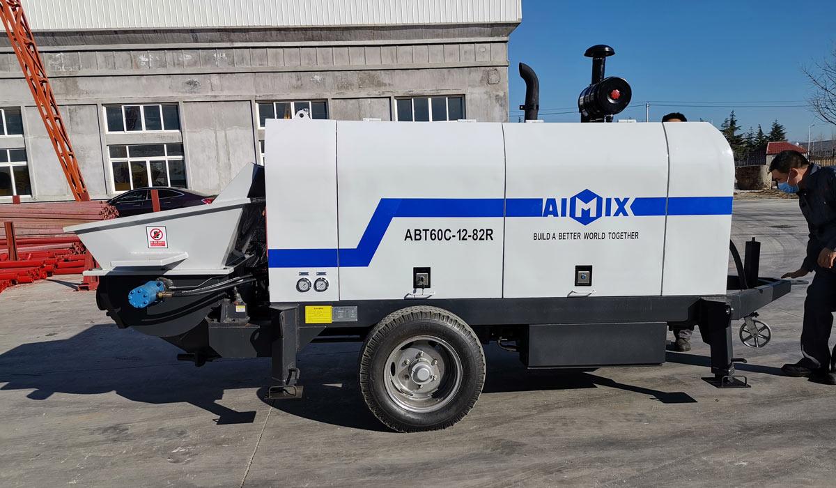 ABT60C stationary concrete line pump