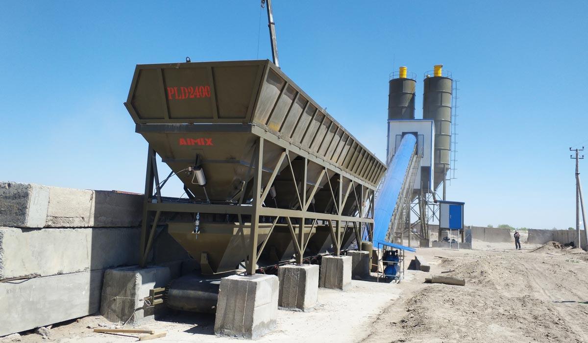 Fábrica de concreto AJ-90 Uzbequistão