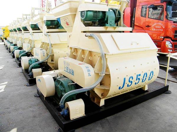 เครื่องผสมคอนกรีต JS500