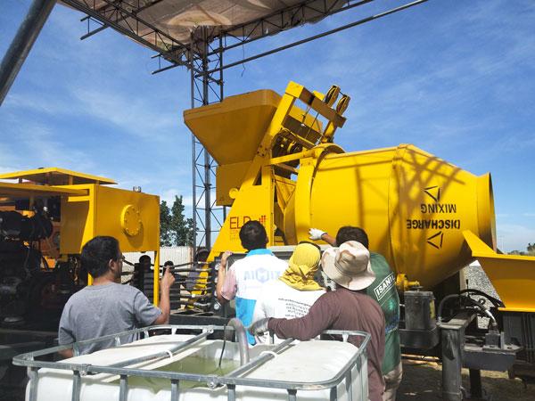 debug ABJZ40C concrete pump