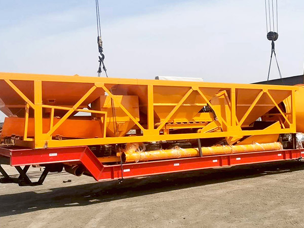 portable concrete mixer batching plant Indonesia
