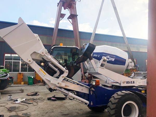 self loading mixer to Australia