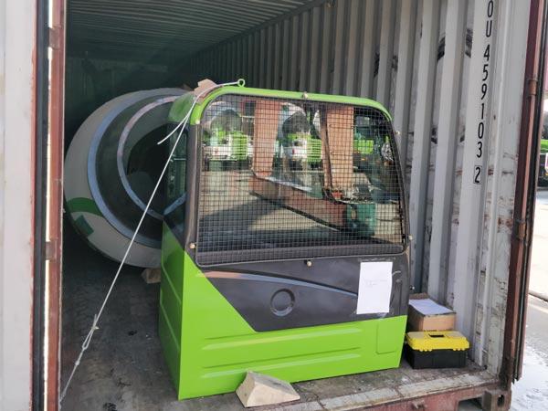 self loading mixer to Botswana
