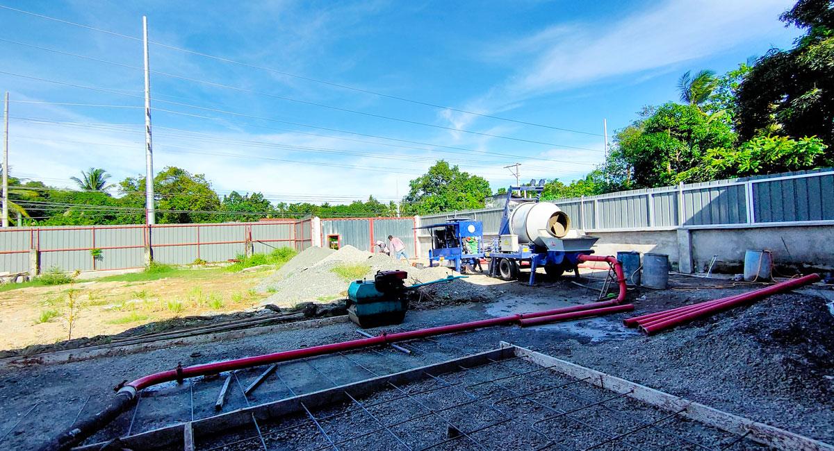 test diesel mixer pump