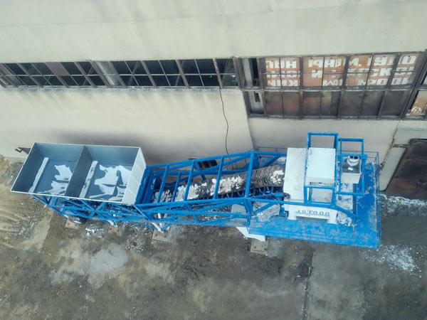 Central dosadora móvel de concreto AJY-60