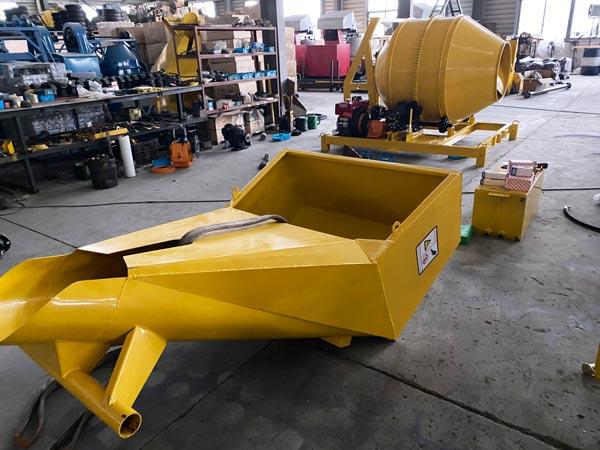JZR350 diesel concrete mixer Aimix Group