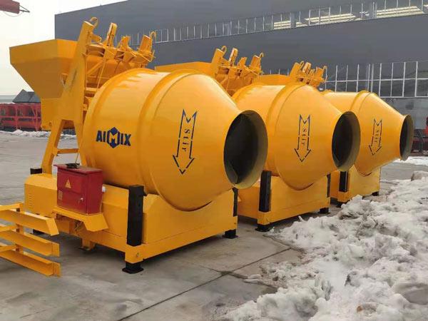mini cement mixer to Indonesia