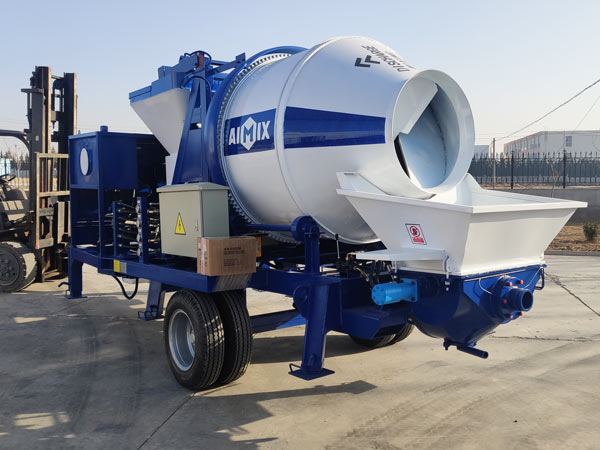 ABJZ30C concrete mixer pump to Dodobas