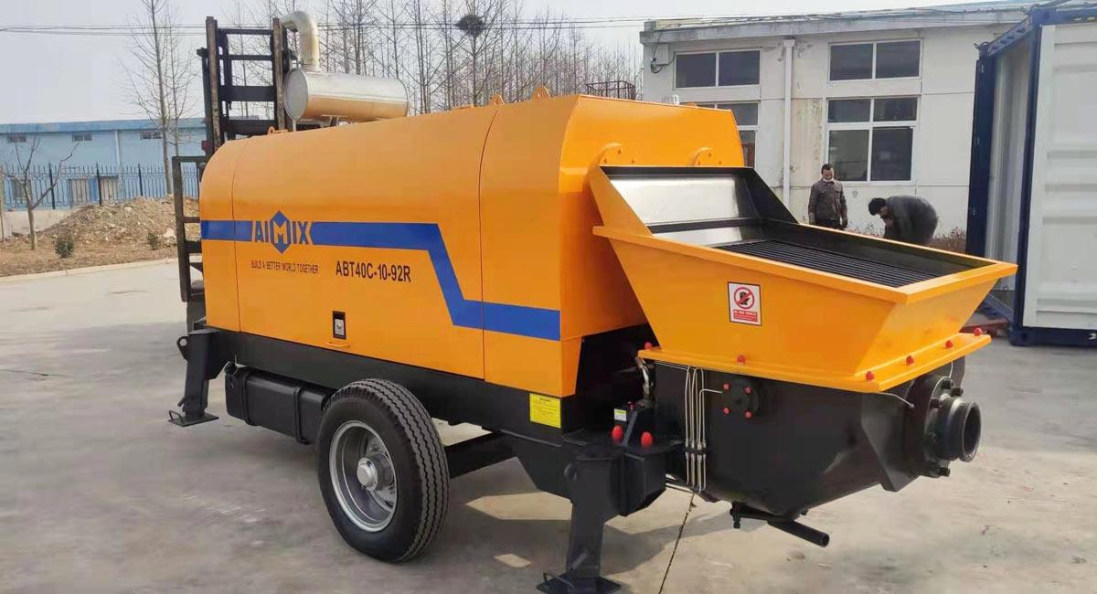 ABT40C concrete pump Morocco