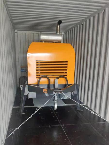 ABT40C concrete pump to Morocco