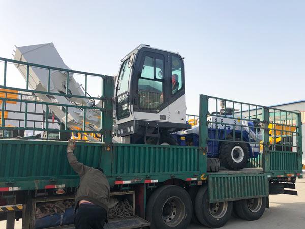 AS-1.2 misturador de concreto com carga automática