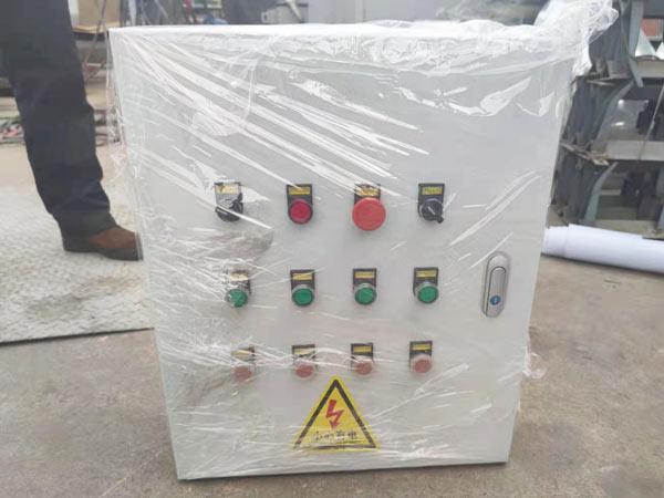 control panel of adhesive machine