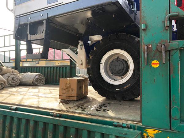 carregue o misturador com carga automática para a Rússia