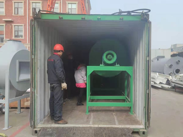 tile adhesive making machine was exported to Peru
