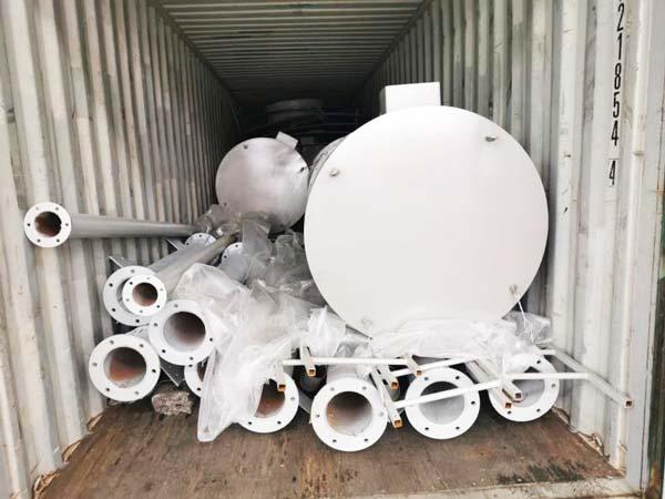 Linha de produção de argamassa seca de 10 toneladas na Malásia