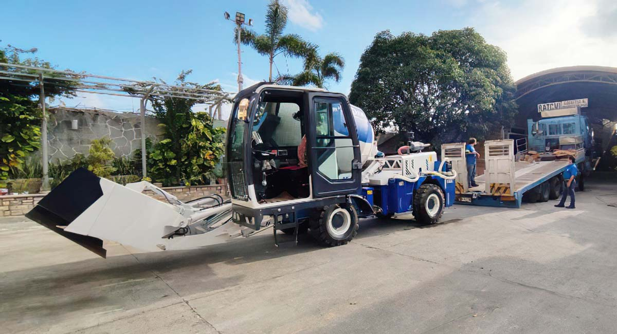 AS-1.8 self loading concrete mixer Philippines