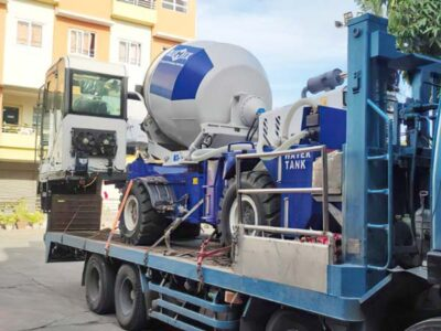 AS-1.8 self loading concrete mixer in the Philippines