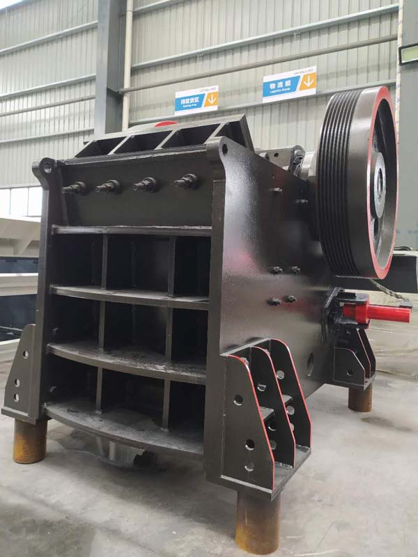 European jaw crusher machines
