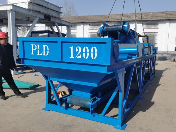 PLD1200 aggregate batcher