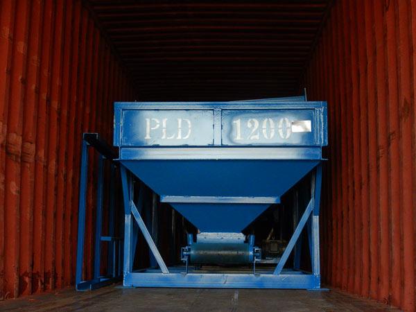 Dosadora de concreto PLD1200