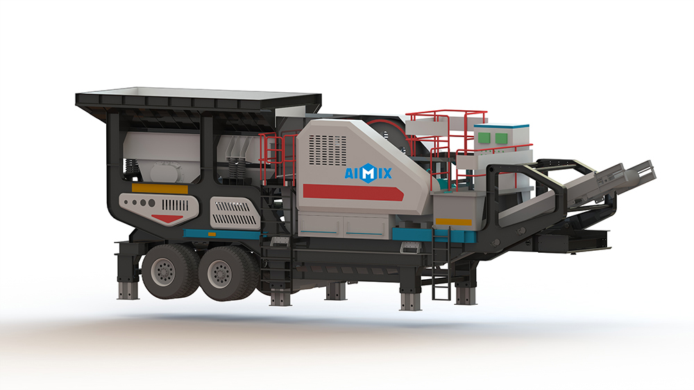 VPE mobile type jaw crusher plant