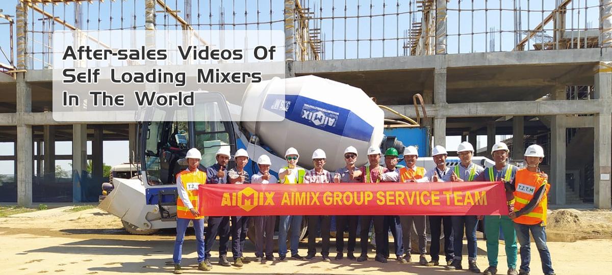 vídeo de mixer de carregamento automático