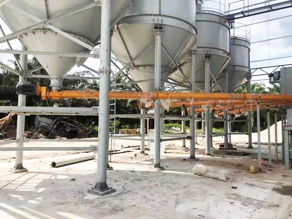 cement silo for mortar plant