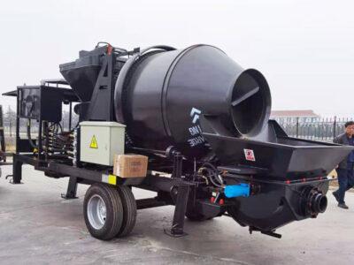 Bomba misturadora de concreto a diesel ABJZ40C