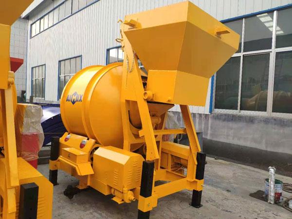 JZM small concrete mixer Indonesia