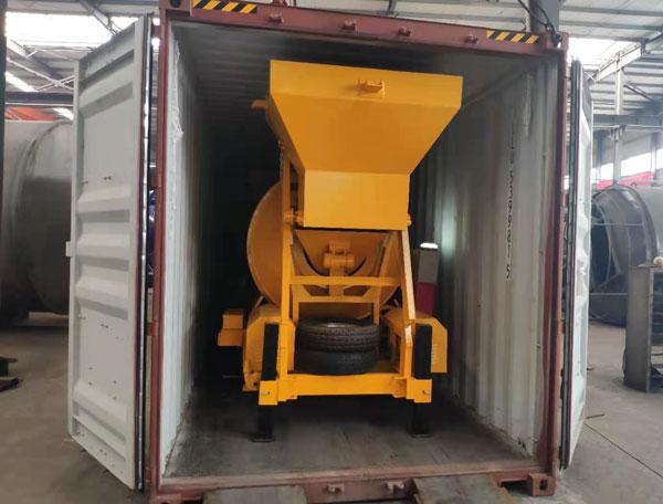 JZM500 pequeno misturador de concreto