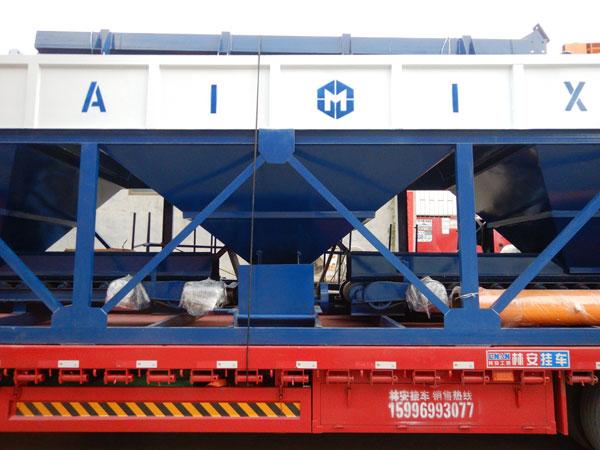 Máquina dosadora de concreto PLD2400