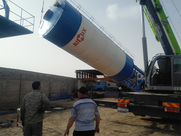 cement silo for mobile concrete plant