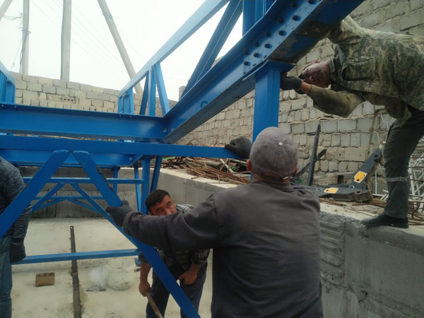 install mobile concrete plant